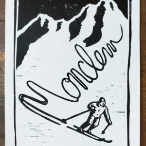 Affiche bière d'hiver